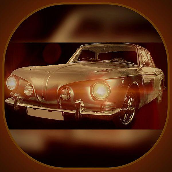 Karman Ghia Vintage Cars Voiture Retro Voiture Car
