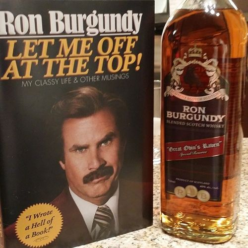 This is kind of a big deal... Anchorman Anchorman2 Ronburgundy Willferrell kindofabigdeal greatodinsraven