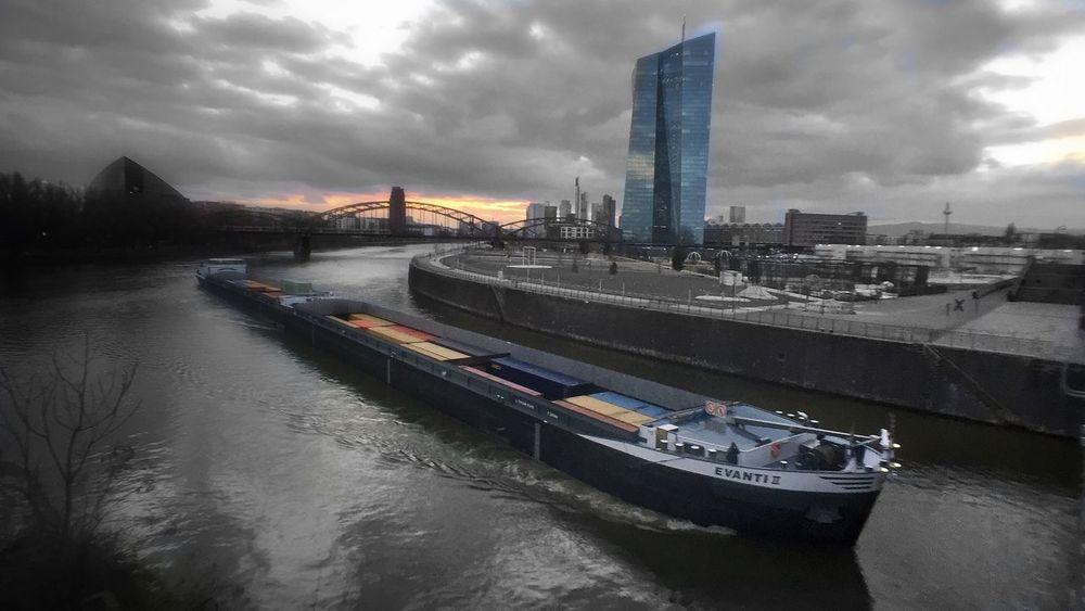 Honsellbrücke Frankfurt Momentwide