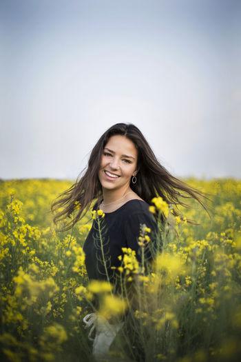 Yellow Smiling