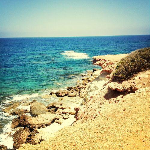 Cyprus Aphroditesrock Coral Bay Travelling