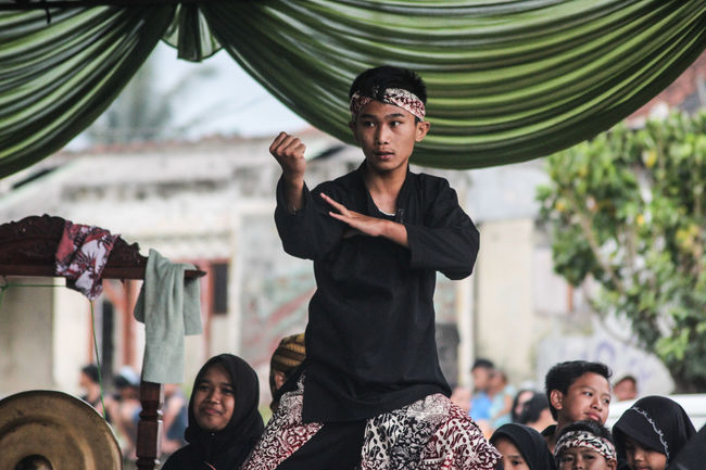 Pencak Silat Cimande. A traditional self-defence in West Java Portrait Arts Culture And Entertainment Traditional Java Pencak Silat Cimande Culture Self-defence Young Brave