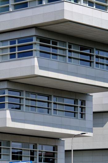 Full frame shot of modern building.