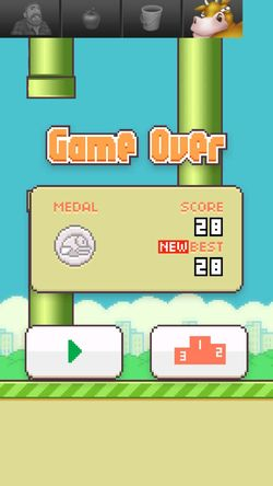Flappybird Highscore Damn Addicted