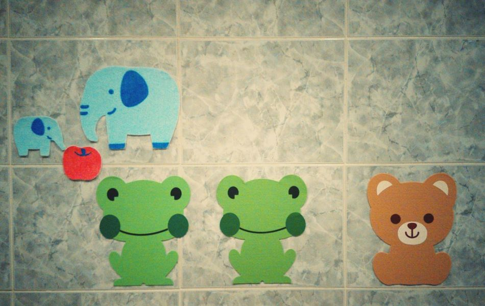 Animals Qute Animals Wall Painting
