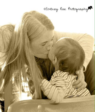A mother's love is the most beautiful thing Love Beauty Blackandwhite Cortney Rae Photography