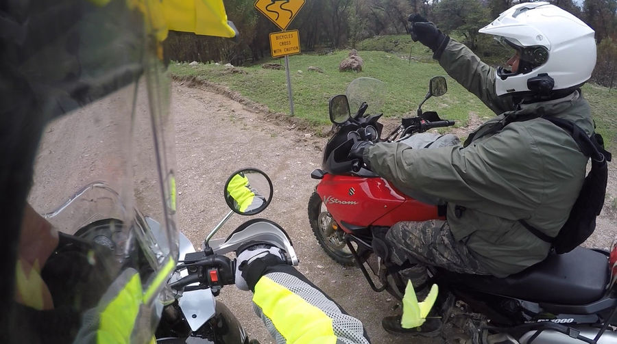 Butterfly Goprohero4 Motorcycle Trip Off Road