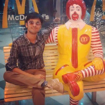 Followforfollow F4F Friends Love McDonald Selfie Myself Shoes Myfav Myfriend Seat Smile Kolkata Indian Funny