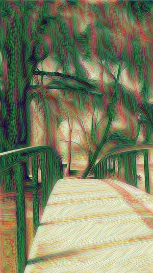 DeepDreamBridge Chapultepec Out Reality