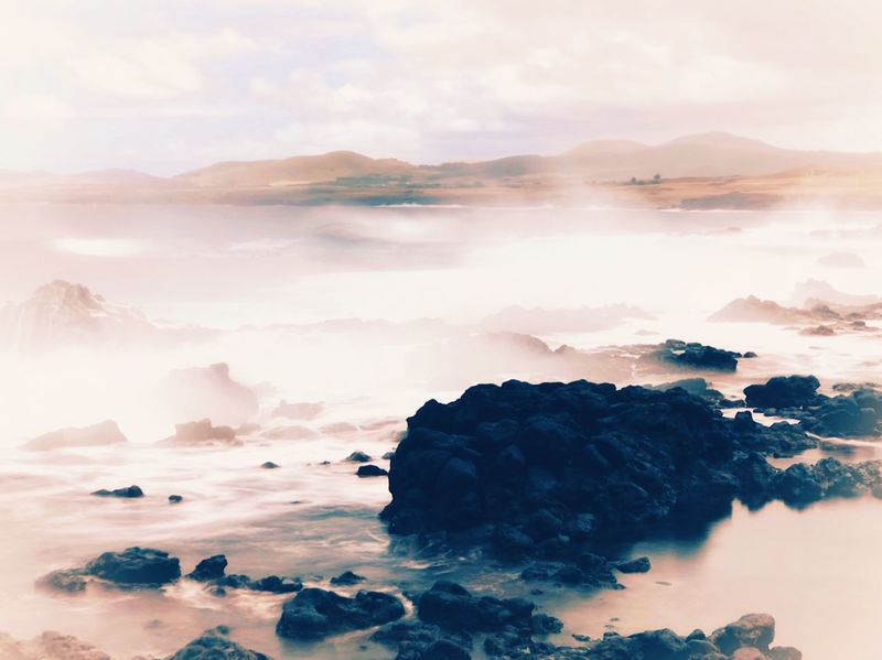 Sea Mist Nature Beauty In Nature Scenics No People Water Sky Tranquility Tranquil Scene Outdoors Sea