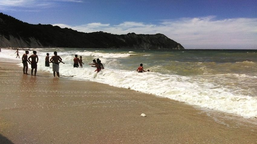 Portonovo Conero Sea Showcasejuly Go To The Sea Traveling Seaside Humans Of Italy Sea_collection Sky Water Sea And Sky