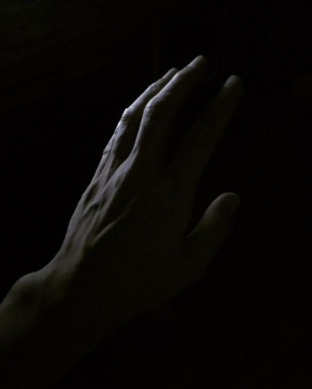 #EyeEmNewHere Black Background Indoors  Studio Shot Hand Human Hand Human Body Part One Person Real People Dark Body Part Human Finger Light - Natural Phenomenon Human Limb