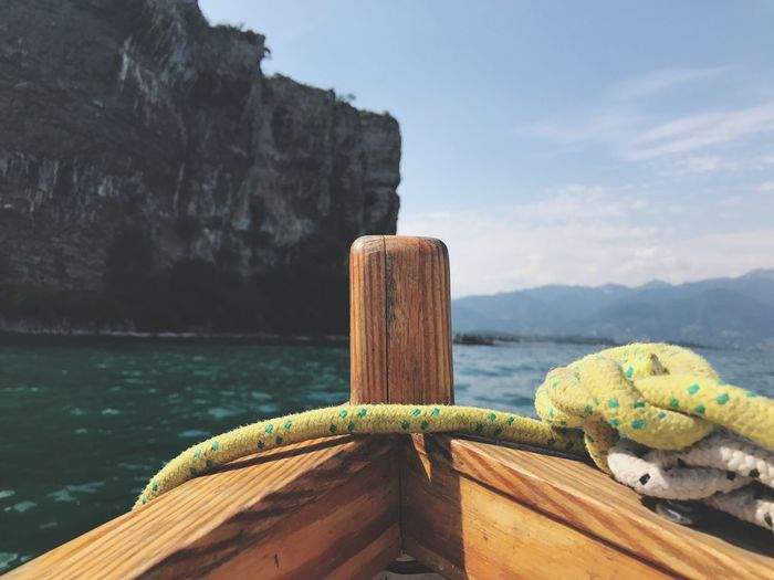 EyeEm Selects Lake Garda Sailing Leisure Activity Summer Travel Destinations Tranquil Scene Mountain Nautical Vessel Boat Lake View Water Horizon Over Water Beauty In Nature