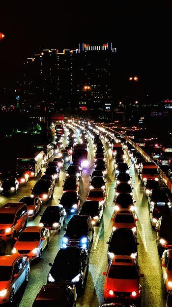 繁忙的城市
