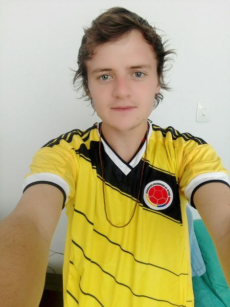 Looking At Camera Portrait Front View One Person Soccer Soccer Uniform Sports Uniform Sports Clothing Pereira Colombia