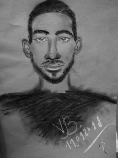Arts Portait Human Face Black&white Hobby Portrait Close-up Human Lips