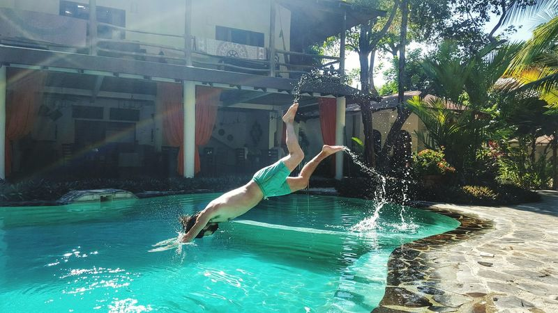 That's Me Costa Rica Relaxing Holiday Diving Swimming Pool