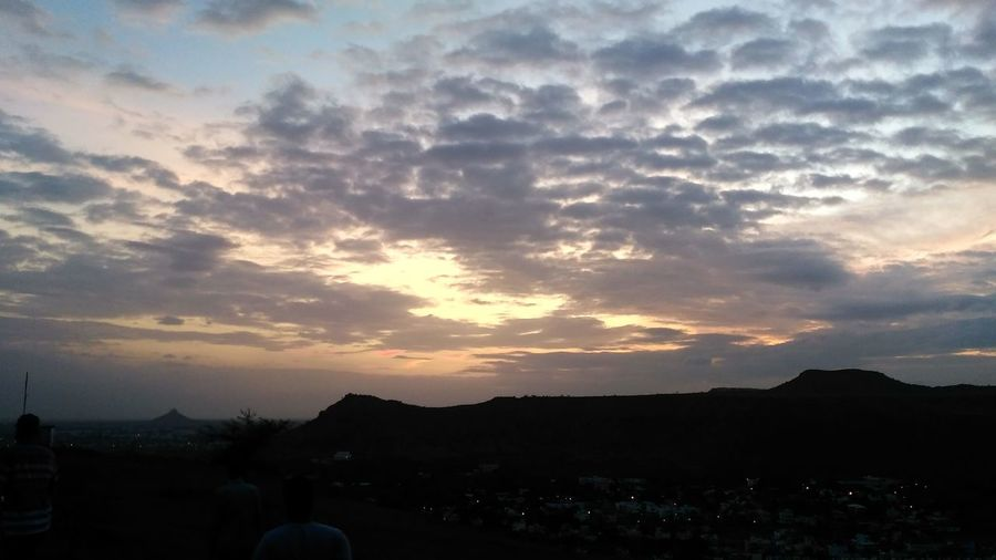 Nature Cloud - Sky Beauty In Nature Sky Landscape Outdoors No People Beauty In Nature Skyview Sunset Times Sundown
