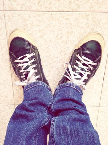 Shoes Shoeselfie Jeans Sneakers