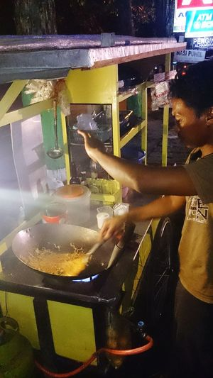 Traditional nodle Mie Noddle Indonesianfoodstreet INDONESIA