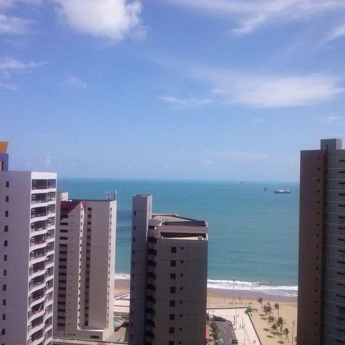 O dia tava gatésimo hoje :3 Fortaleza Ceará Brasil Brazil Beach Sun
