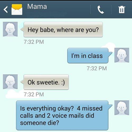 Moms will be moms. Whenparentstext Momsrule Mom Moms motherslove parentalguidance