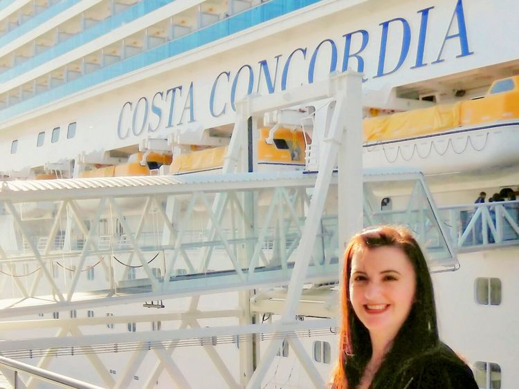 Fantastic cruise on board the Costa Concordia sadly just weeks after this photo was taken the ship run aground with the loss of 32 passengers and crew... Disaster Waiting To Happen Disaster Mediterranean  Vacations Cruise Ship Photos Costa Concordia Infamous November 2011 Nautical Vessel Cruise Ship Docking Cruise Ship That's Me