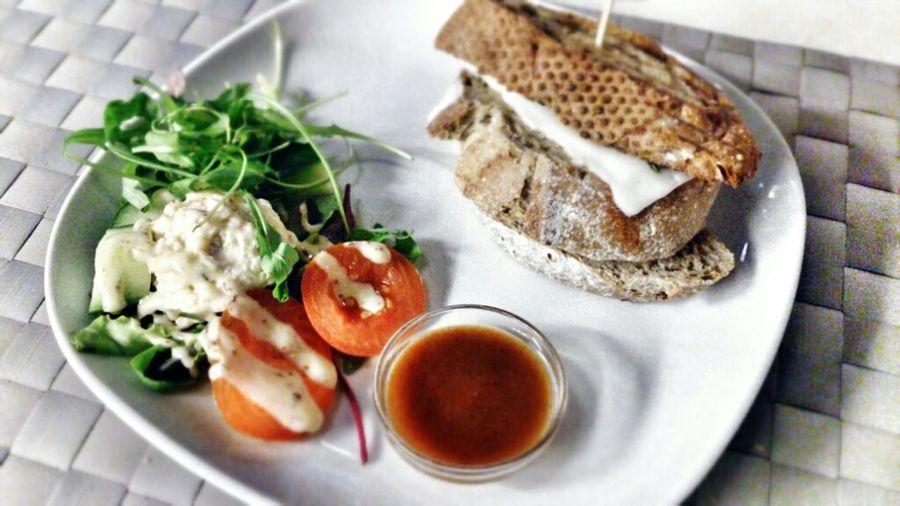 Goatcheese sandwich #foodspotting