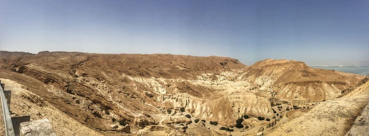 Israel Sky Scenics - Nature Land Tranquility Tranquil Scene Beauty In Nature Nature Desert