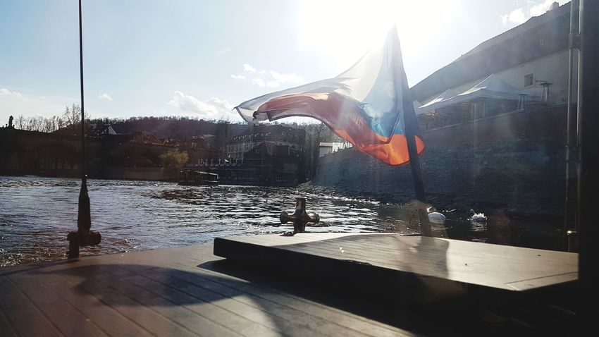 Cityscape City Water Sunlight Swimming Sky