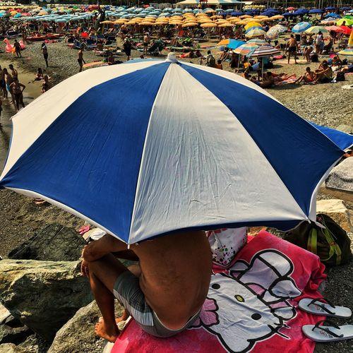 Beach Life Hello Kitty Leisure Activity Outdoors Vacations People Eye4photography  Europe IPhoneography Italy Liguria,Italy Summertime Albissola Marina Beach Umbrella Beach #LifeIsABeach #Summertime #AlbissolaMarina #ProvinceofSavona #Liguria #Italia #iPhoneography #sunumbrellas #Savona #freelancephotographer #beachlife #HelloKity #EverydayItaly #streetphotography #Photojournalism #EverydayEurope #EverydayWesternEurope #JuanCarlos #freelance #2017copyright EyeEmNewHere EyeEmNewHere