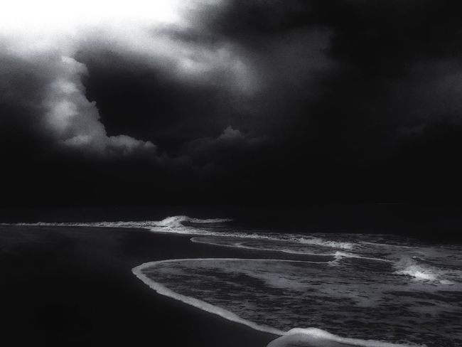 Surge Dominant Unavoidable Ansel Adams Inspired Stormy Weather Noir Malaysia Beach Photography Nature Photography Intense Eye4photography  Dramatic Sand & Sea Black And White Collection  Outdoor Photography The Great Outdoors - 2016 EyeEm Awards