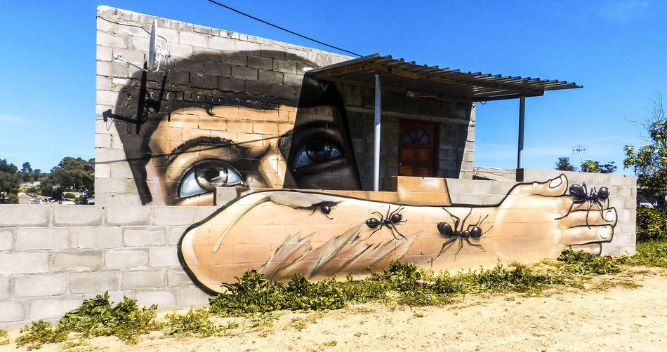 Graffiti on the