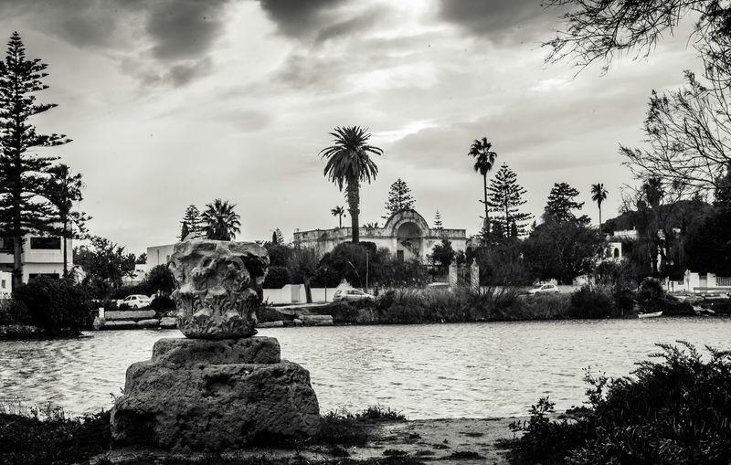 Carthago est delenda Military Port Carthage Tunis Tunisia Ruins Cloud - Sky Cityscape Nature Ancient Civilization