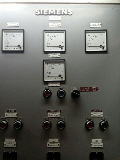 Panel Engine Room Ship