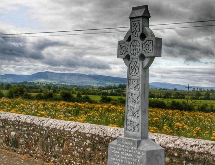 Tipperary-CelticCross Sky Cloud - Sky Outdoors Day Mountain No People Nature Scenics Landscape Celtic Cross Tipperary Ireland Ireland Landscapes