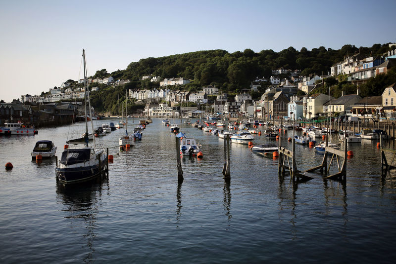 """""""Looe Harbour"""" Architecture Beach Beauty In Nature Boat Building Exterior Built Structure Clear Sky Cornwall Day Large Group Of People Looe Mast Mode Of Transport Moored Nature Nautical Vessel Outdoors People Sea Sky Transportation Travel Destinations Vacations Water Waterfront"""