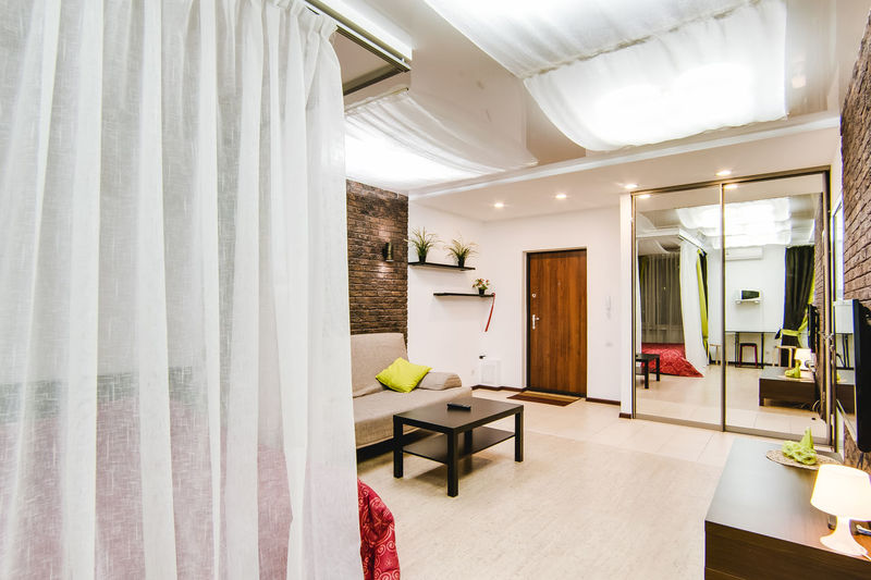 Indoors  Curtain Architecture Home Interior Home Showcase Interior Furniture Domestic Room Luxury Window No People Wealth Absence Built Structure Home White Color Building Door Lighting Equipment Entrance Ceiling Modern Architectural Column Electric Lamp