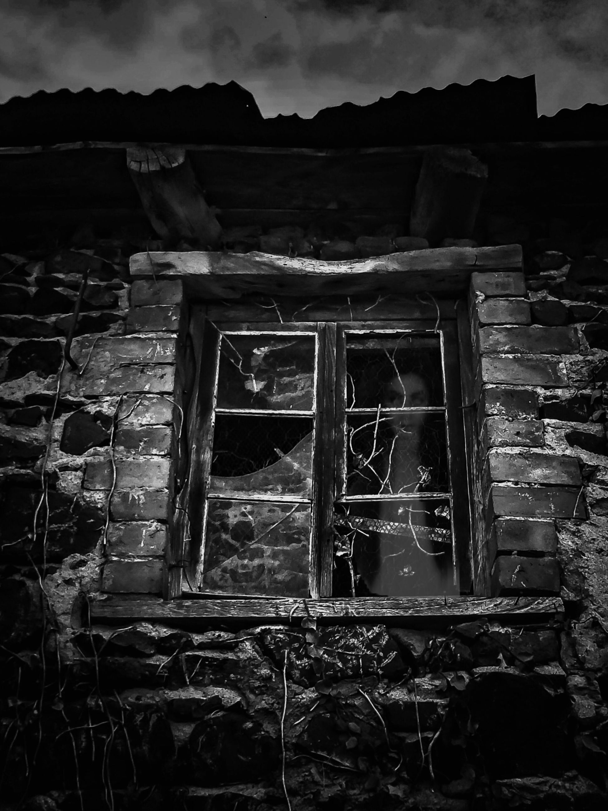 abandoned, obsolete, damaged, run-down, built structure, deterioration, architecture, old, house, bad condition, building exterior, weathered, destruction, ruined, sky, broken, window, brick wall, old ruin, wood - material