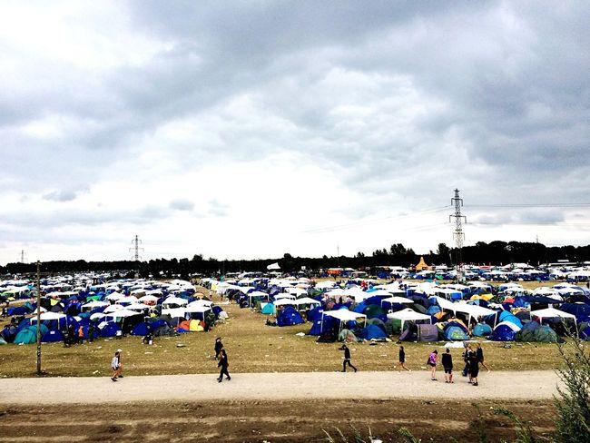 Camping Festival Roskilde Festival Tents