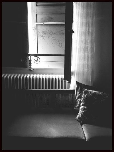 Morning Light And Shadow Blackandwhite Monochrome