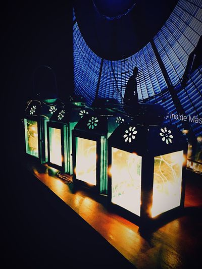 Beautifully Organized Illuminated Lighting Equipment Indoors  Night Communication City Sky No People First Eyeem Photo Leisure Activity fairy lights