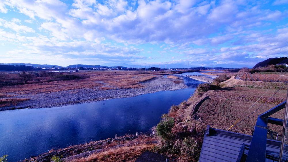 宿からの風景。