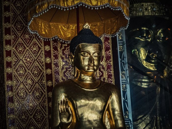 Gold Colored Religion Indoors  Sculpture Statue Spirituality No People Day Close-up Buddha Buddha Statue Buddha Image Buddhism Buddhist Temple Buddhist Buddha Statues Myanmar Burma Yangon Yangon, Myanmar Buddha Temple Religions Buddha Head ASIA Asian  EyeEmNewHere The Week On EyeEm Been There.