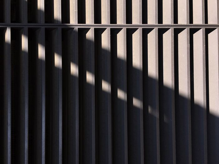 Pattern Shadow Full Frame No People Sunlight Backgrounds Close-up Built Structure Architecture Metal Security Protection Design Textured