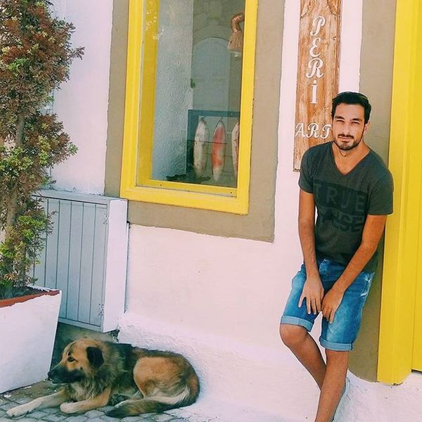 🐕🐕🐕🐕🐕🐕 Me Dog Alaçatı TBT  Color Yellow Sarı Instagood Cool Good Boy Guy Vscocam Vscocamturkey Vscogrid VSCO Izmir