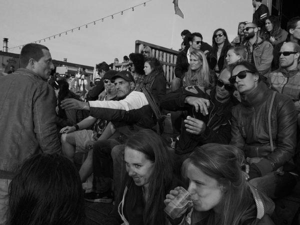 Party Hard Taking Photos Great Atmosphere Enjoying Life Festival People Blackandwhite Black And White