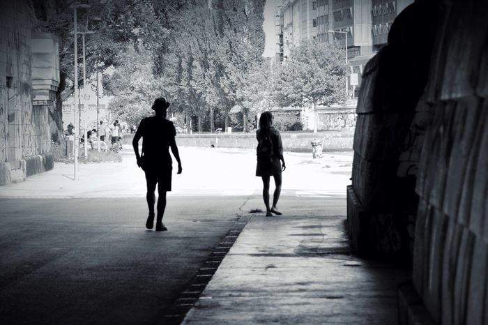 Blackandwhite Architecture Walking Footpath Pedestrian Walkway City Life Tranquility Shadow City Life Darkness And Light