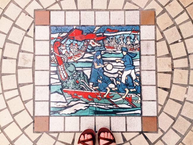 Mosaic Japanese History Japan History Naha Okinawa Travel