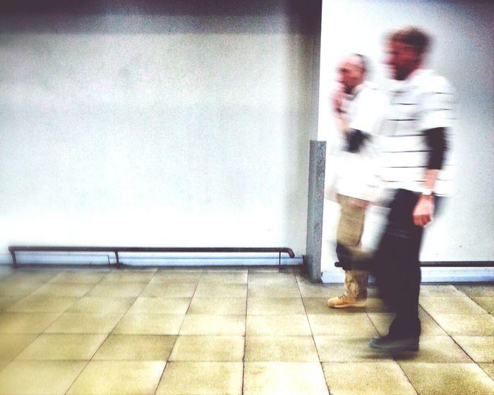 Racing Stripes Andrographer Streetphotography Peoplewalkingpastwalls Airport